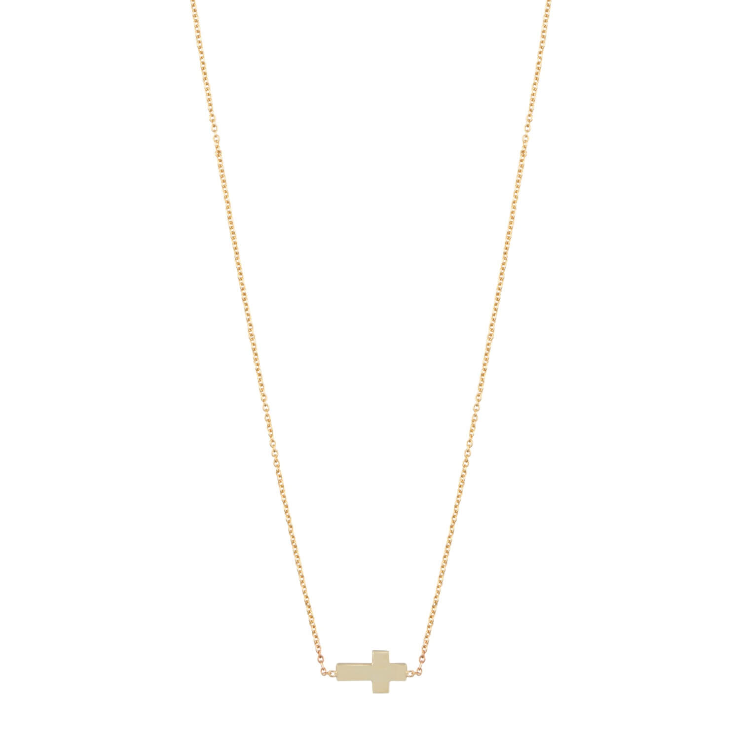 est living gift guide her iconic necklace cross