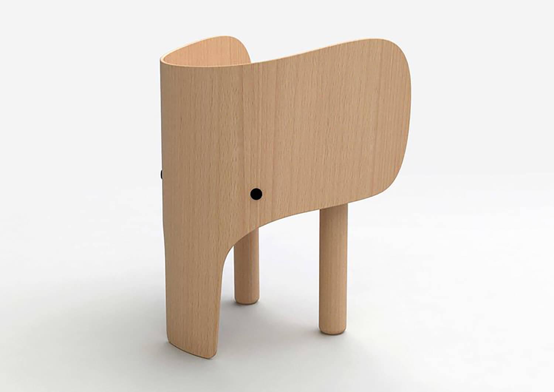 Elephant Chair | Kids Gift Guide | Est Living