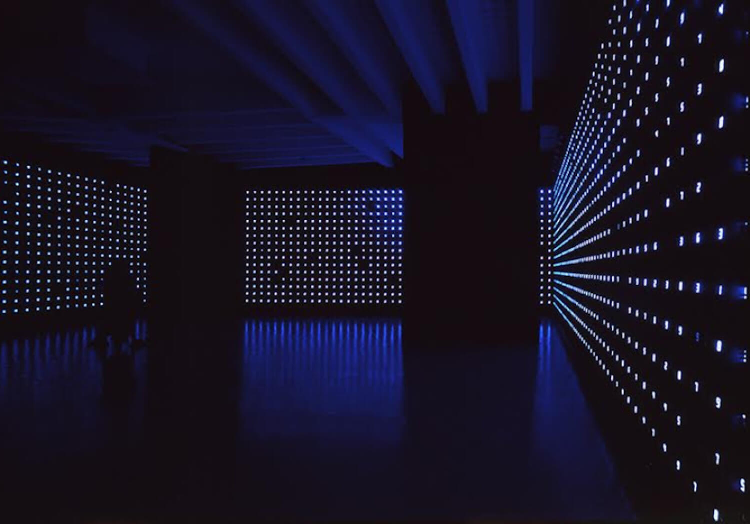 est living summer art exhibitions tatsuo miyajima