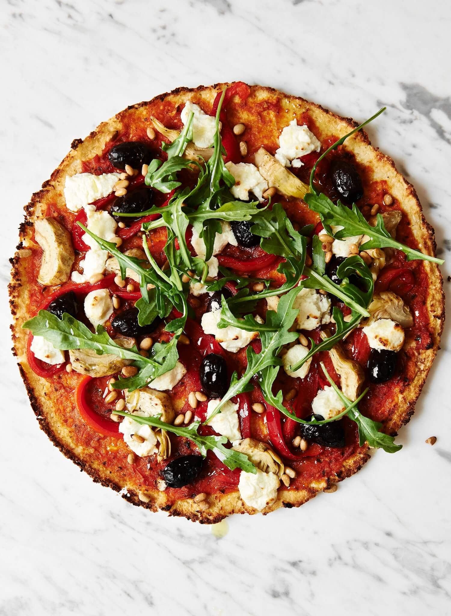 The Beauty Chef recipes |  cauliflower pizza | est living