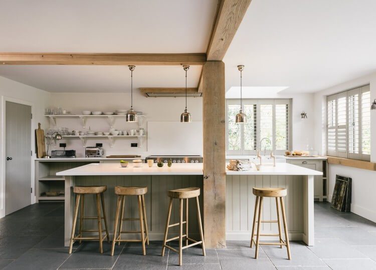 The Real Shaker Kitchen by Devol | Est Living
