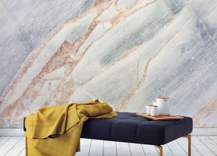est living est edit wallpaper wonders bronze cracked marble wallpaper feature 750x540