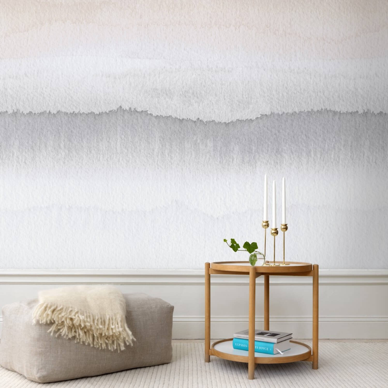 Gryning Purple Wallpaper designed by Sissa Sundling | Sandberg