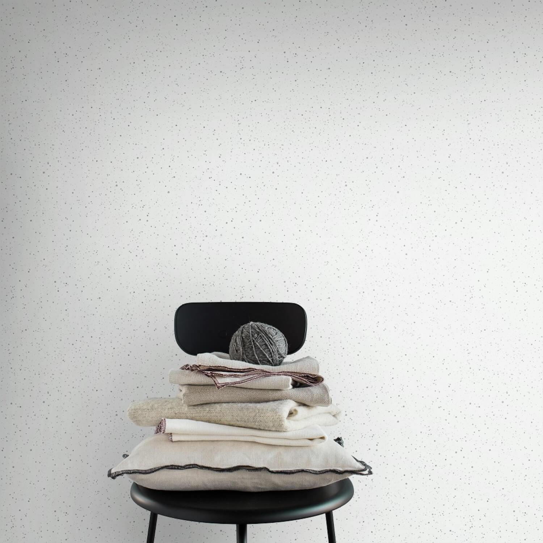 Skal Grey Wallpaper designed by Karolina Kroon | Sandberg