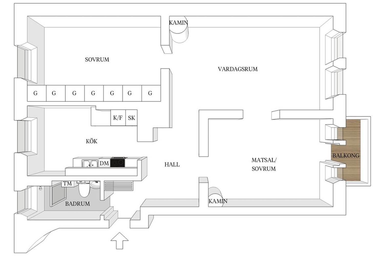 est living open house stockholm apartment floorplan