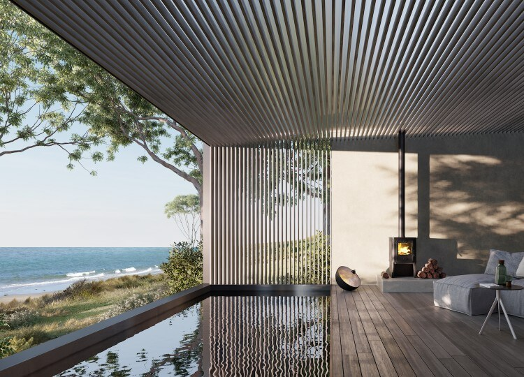 Piermont Retreat Properties | JCB Architecture + Hecker Guthrie | est living