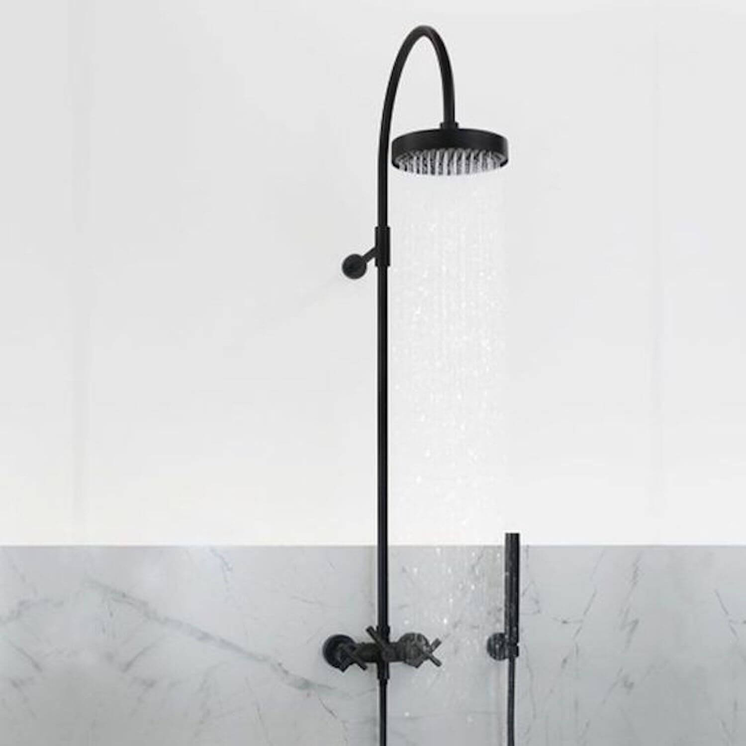 Outdoor Shower Head Part - 44: Est Living Outdoor Showers Outdoor Shower Tara Dornbracht