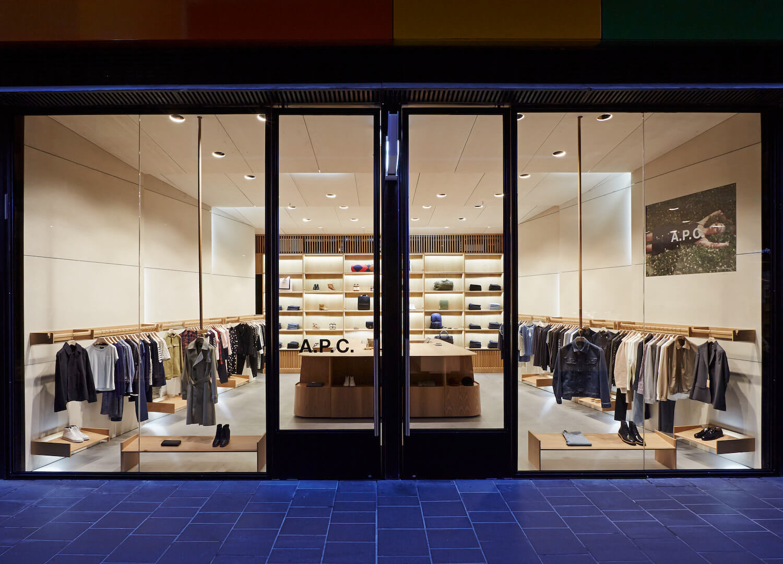 APC Melbourne store by Akin Creative   est living