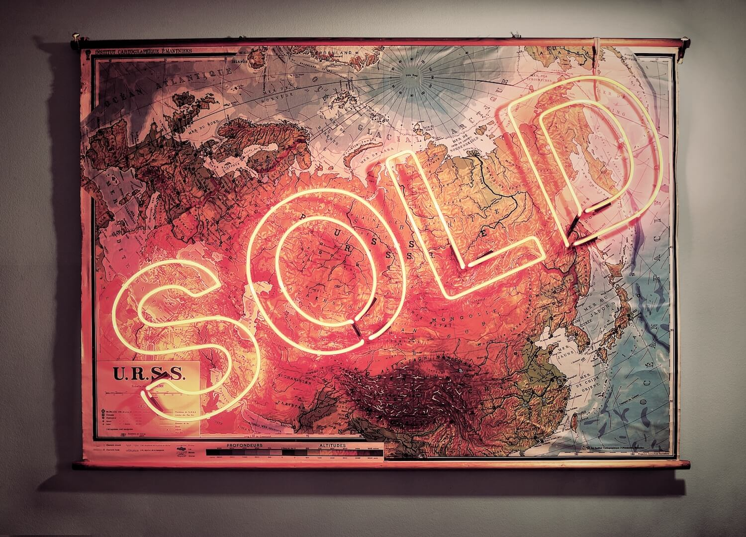 SOLD USSR by Olivia Steele | Art x Interior | Velvenoir and steininger.designers exhibition