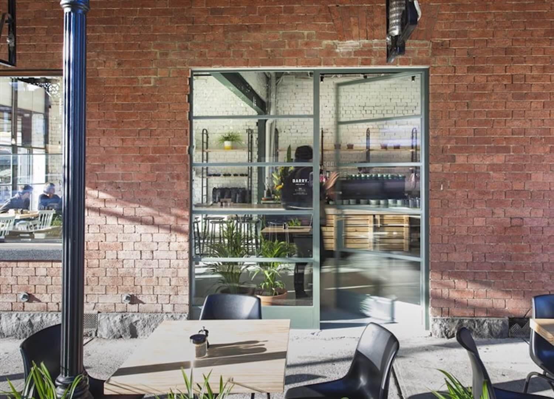 barry cafe steel coated windows
