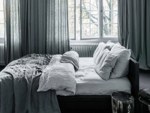 Bedroom: Shades of Grey by Annabell Kutucu