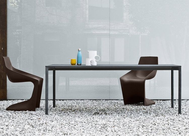 Boiacca Concrete Dining Table | Fanuli | Est Living Design Directory