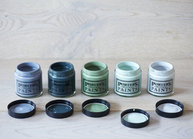 Eggshell Premium Acrylic Porters Paints