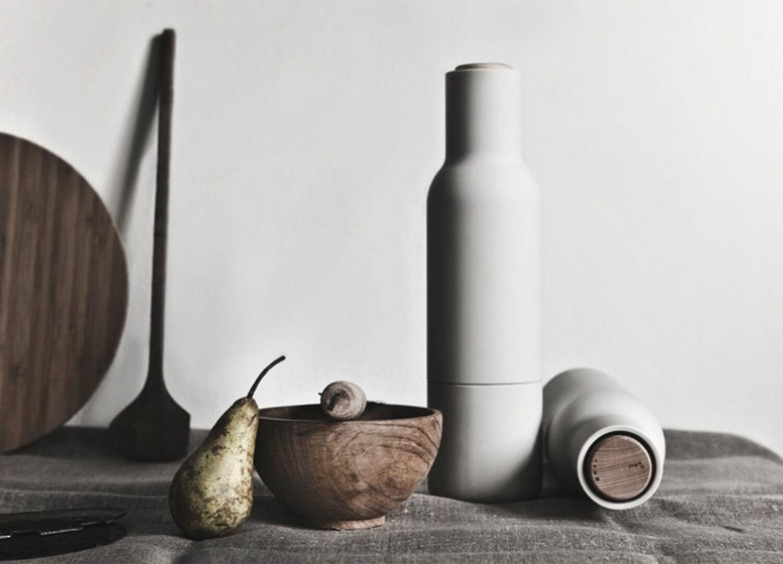 Est Living Bottle Grinder Salt Pepper Set by Norm Architects