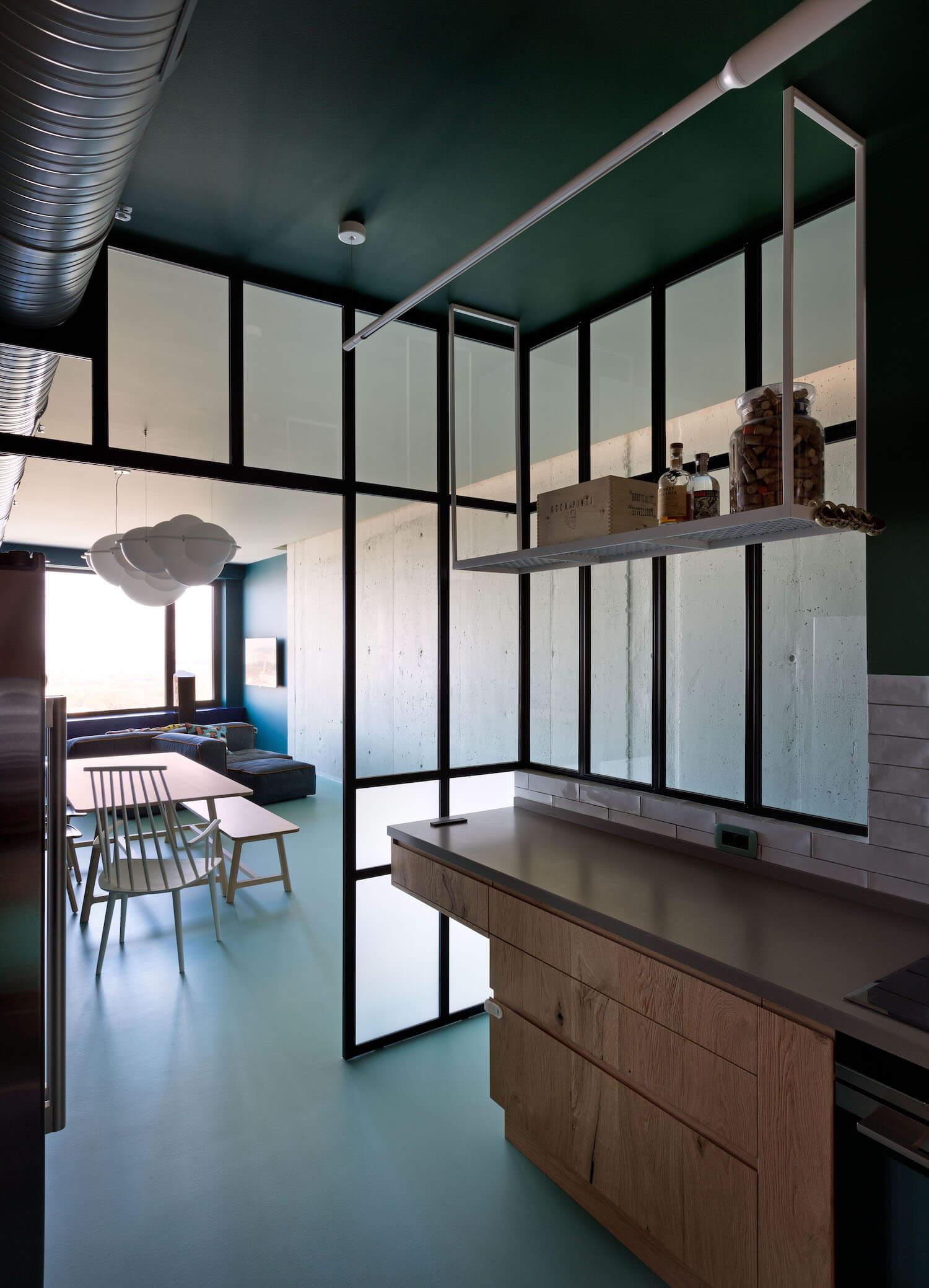 est living interiors green apartment ukraine 5