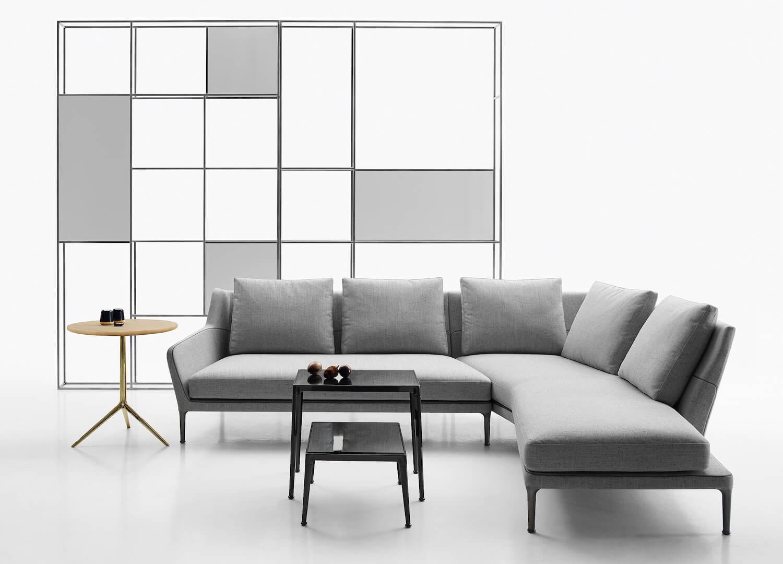 est living space b and b italia edouard sofa 1