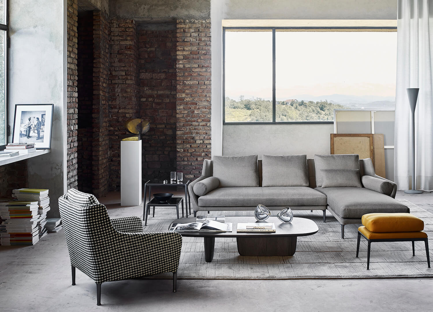 Comfort with Class | The Edouard Sofa from B&B Italia at Space | est ...