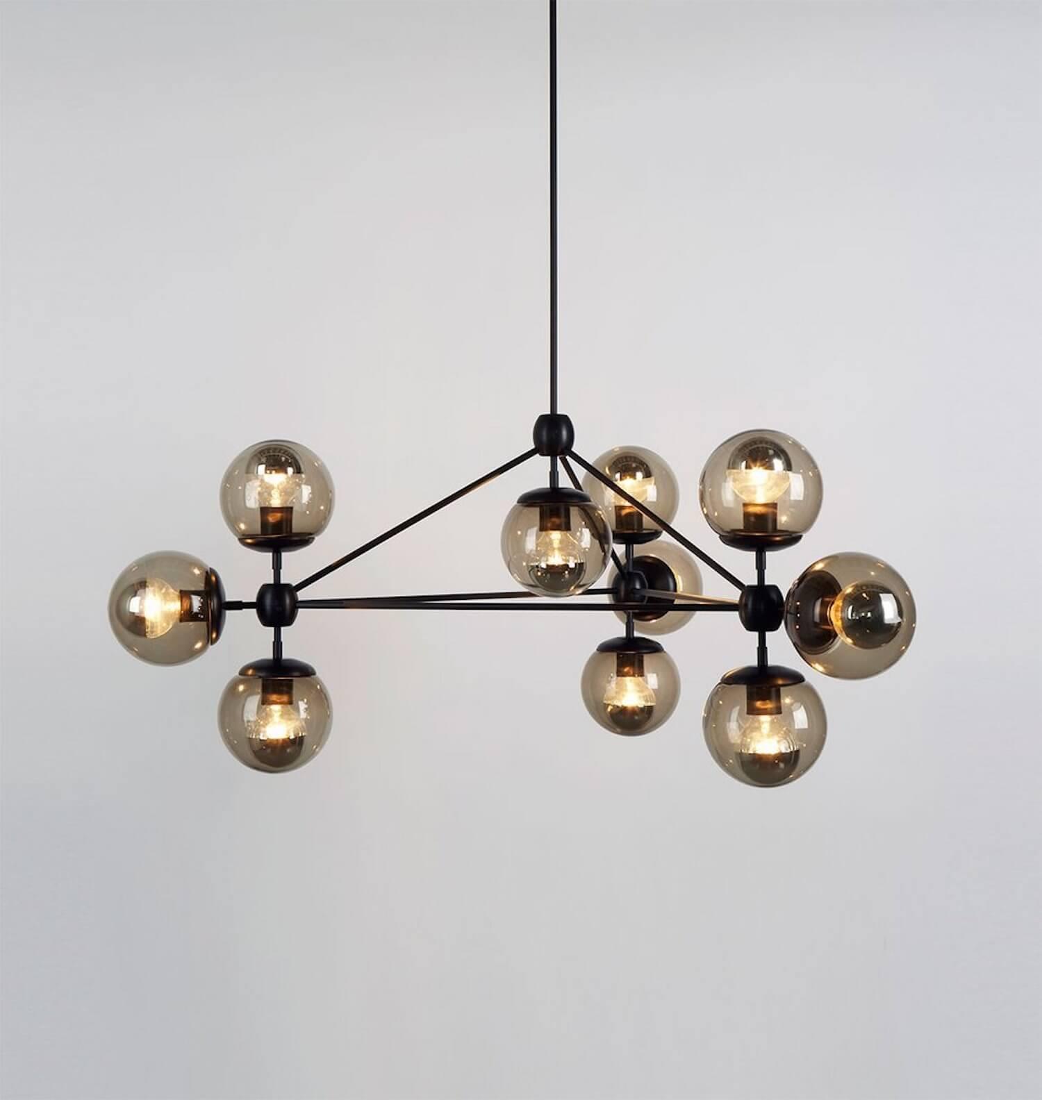 modo chandelier est living vif studio san francisco home