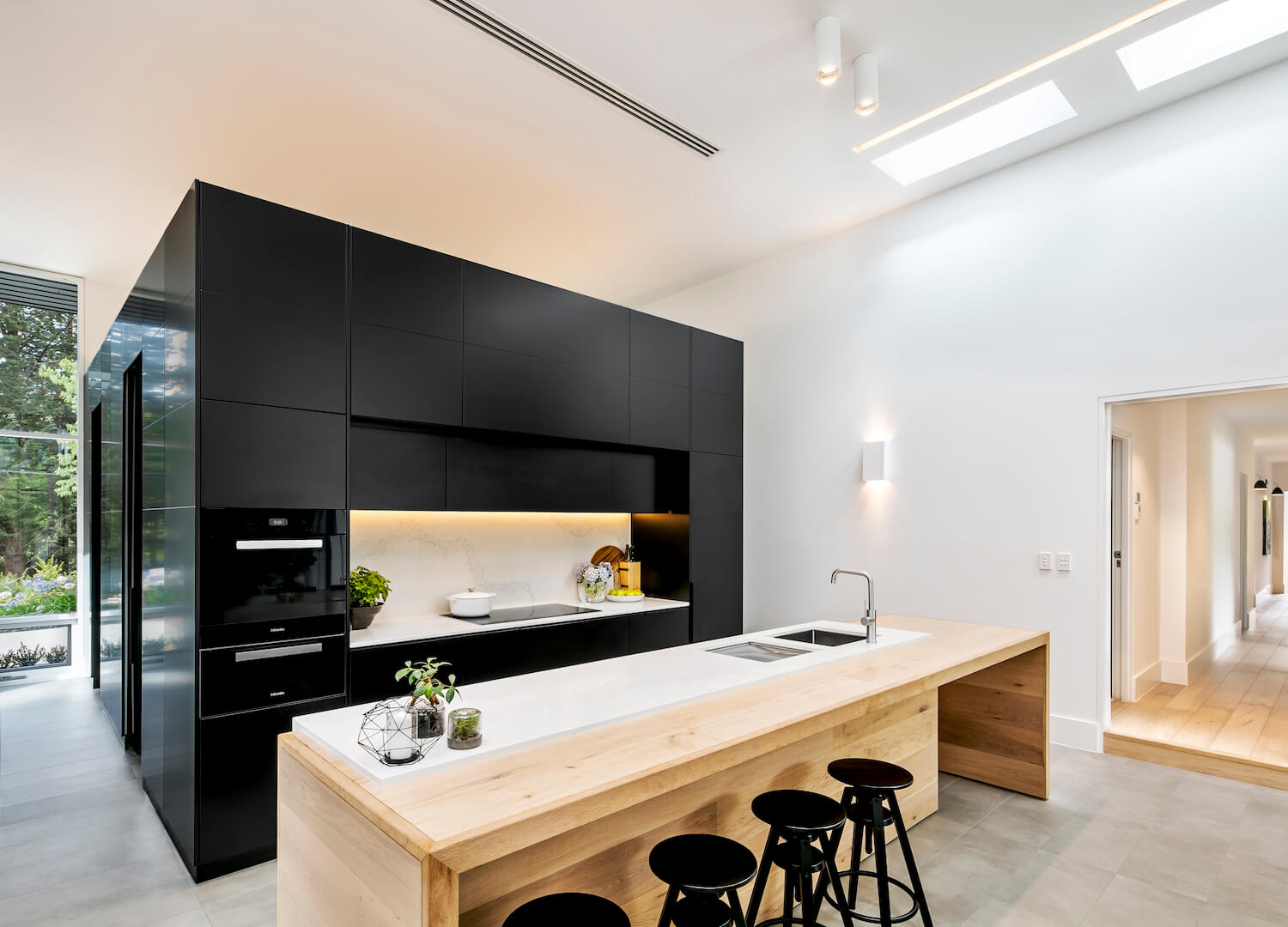 est living interiors adelaide hills home black rabbit 7