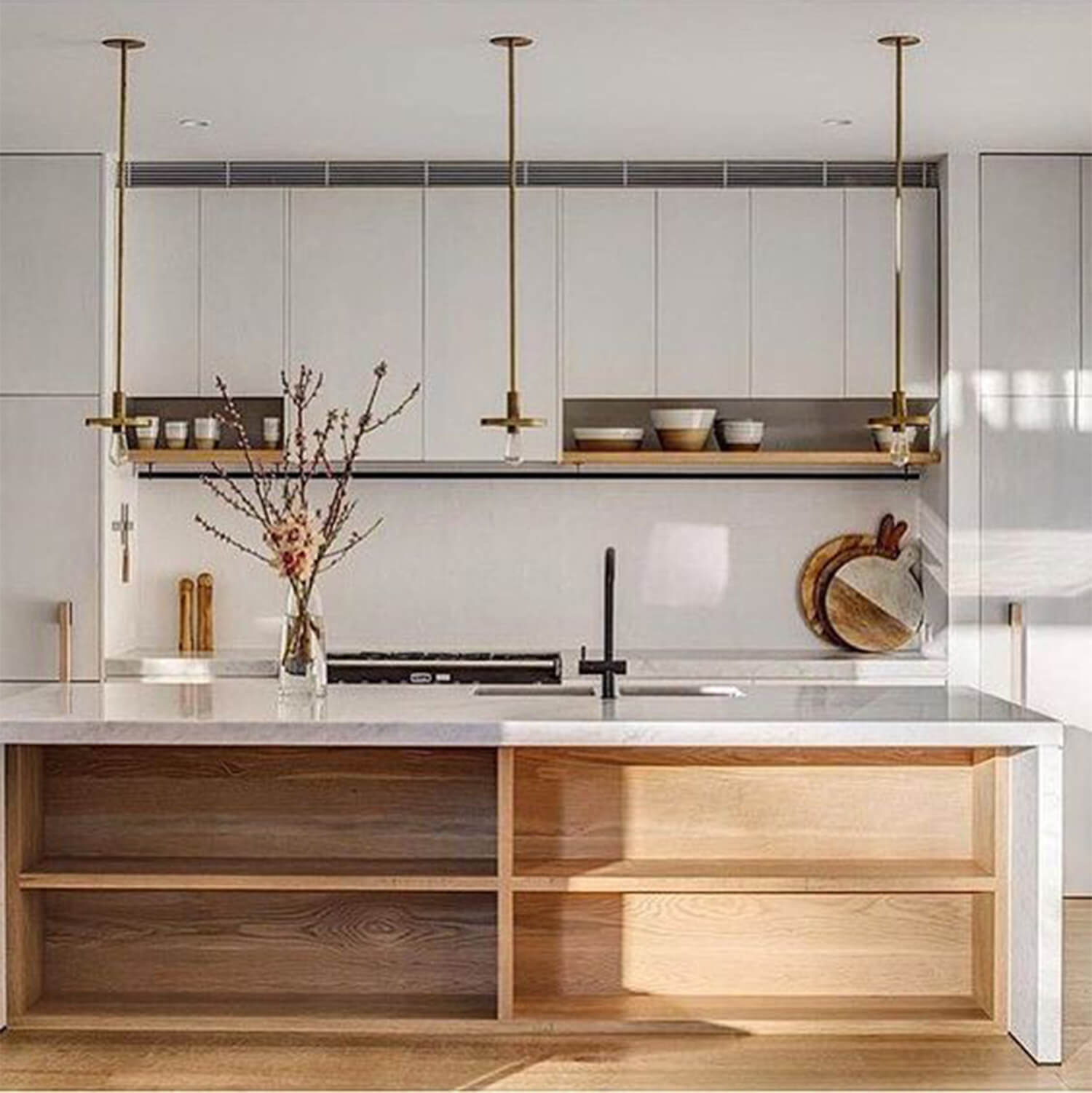est living romy atwill kitchen timber kitchens