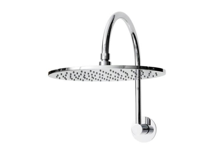 Fontana Round Gooseneck Shower Abey