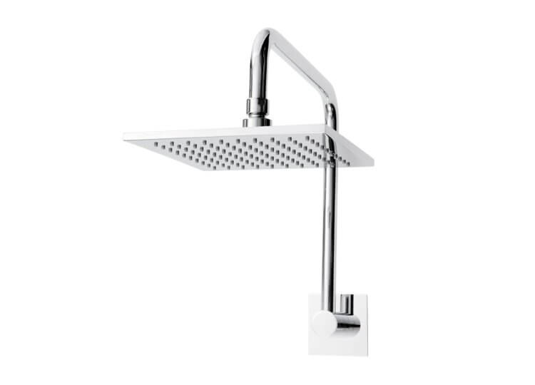 Fontana Square Gooseneck Shower