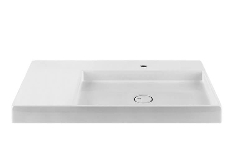 Rettangolo Wall Mounted or Countertop Basin Abey