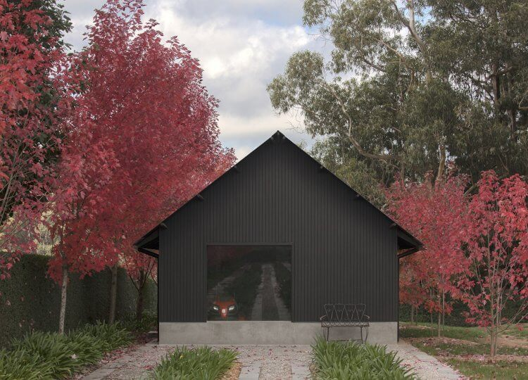 Macedon Ranges home Adam Kane Architects est living 03 750x540