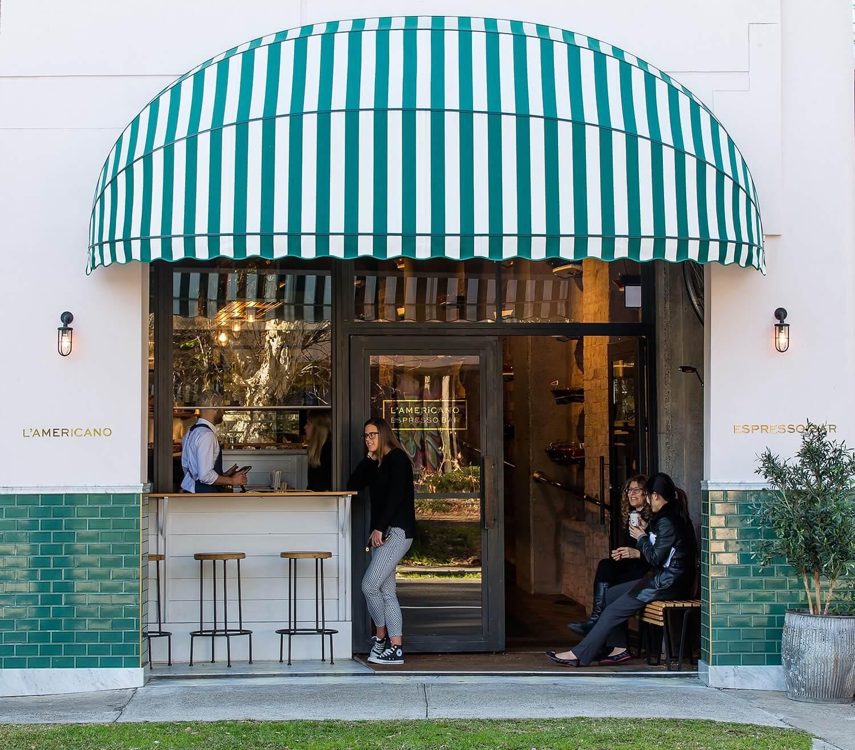 est living designer interview alexander and co lamericano cafe