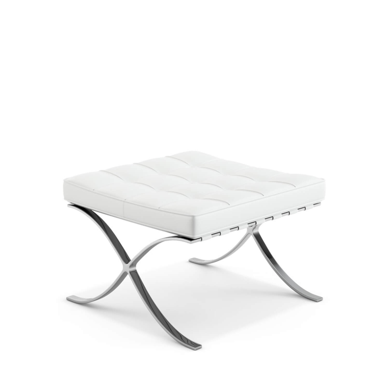knoll barcelona stool 1