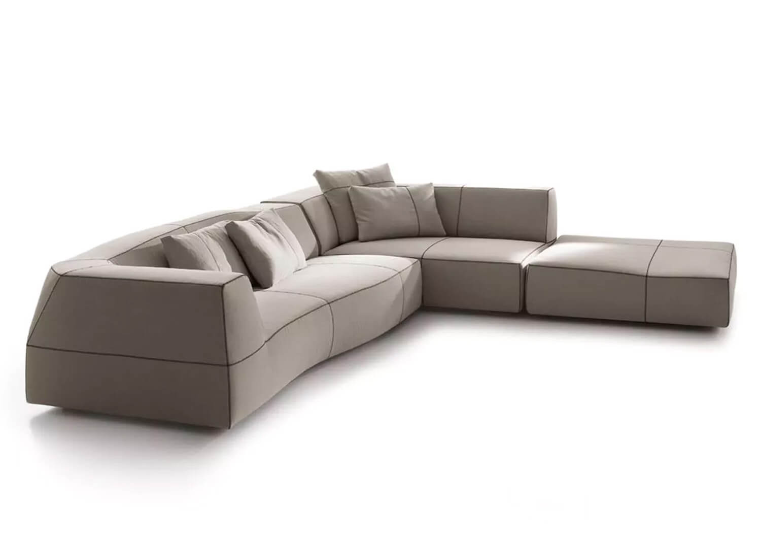 Bend Sofa By B Amp B Italia Space Est Living Design Directory