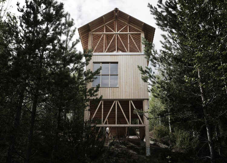 The Bergaliv Loft House, Sweden