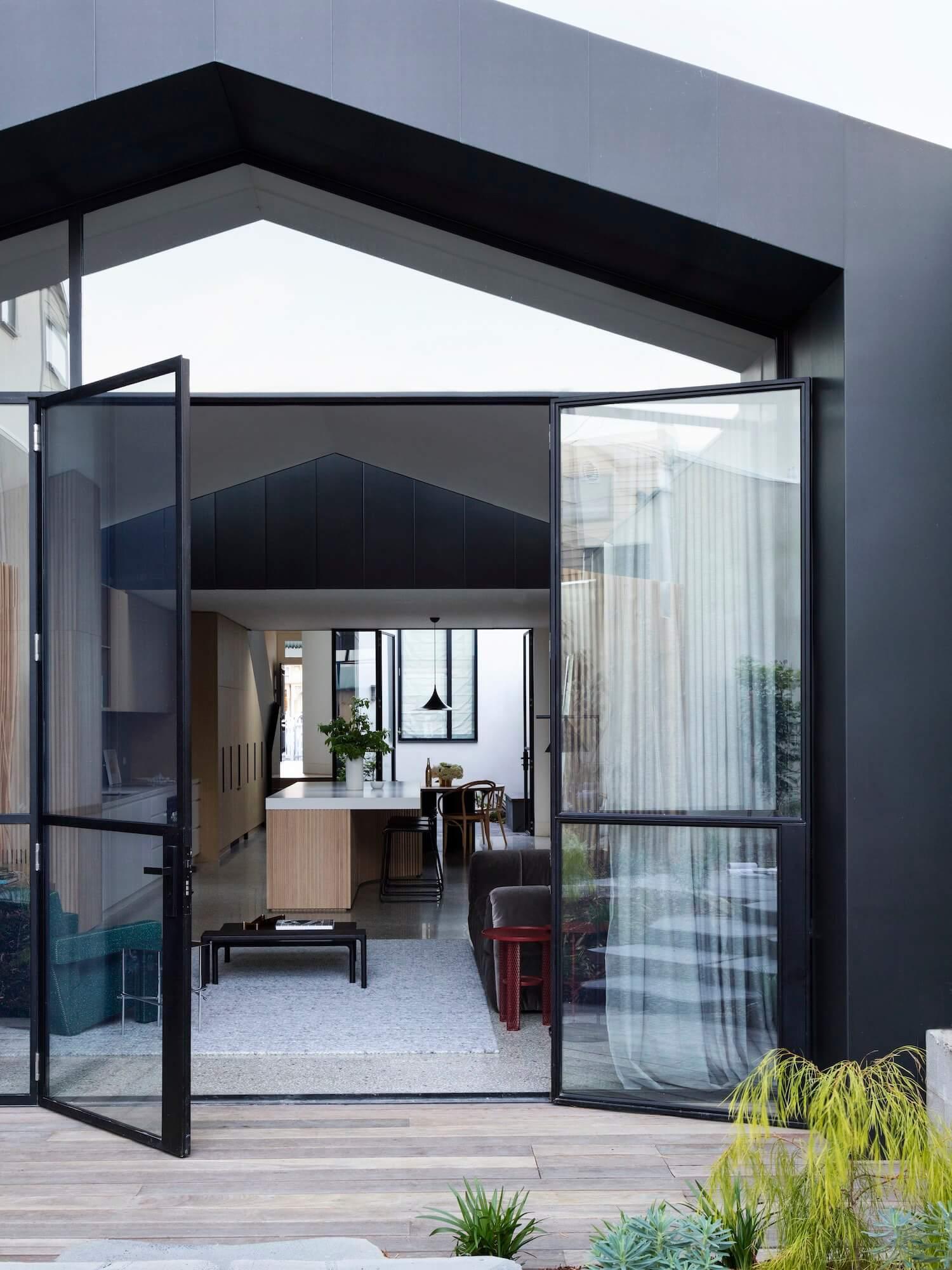 Est living port melbourne house pandolfini architects 8