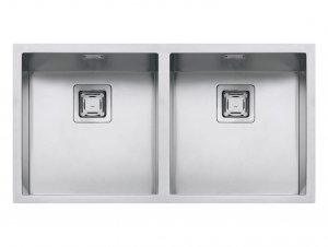 Barazza Cubo Double Bowl Sink