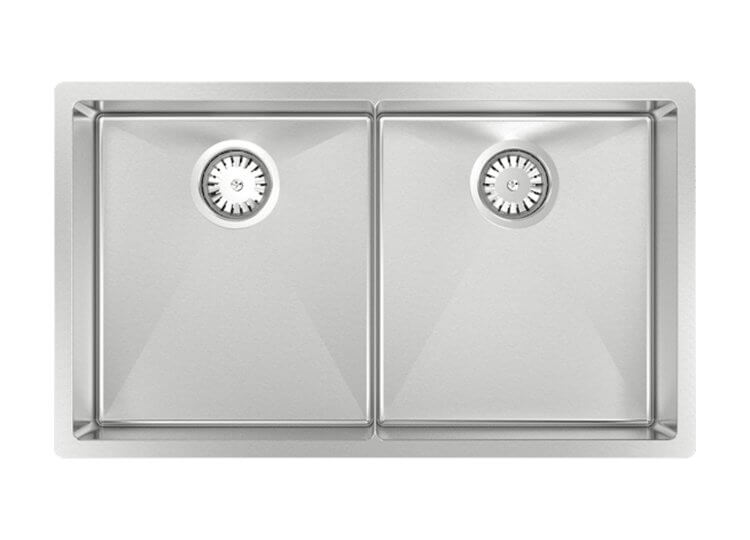 Piazza Double Square Sink