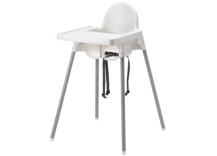 Antilop Highchair with Tray