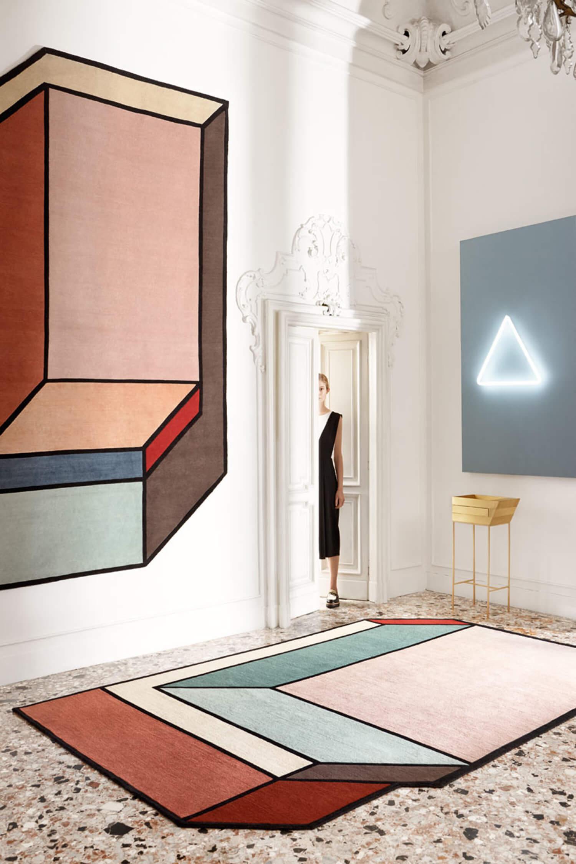 cc tapis Visioni rug by Patricia Urquiola