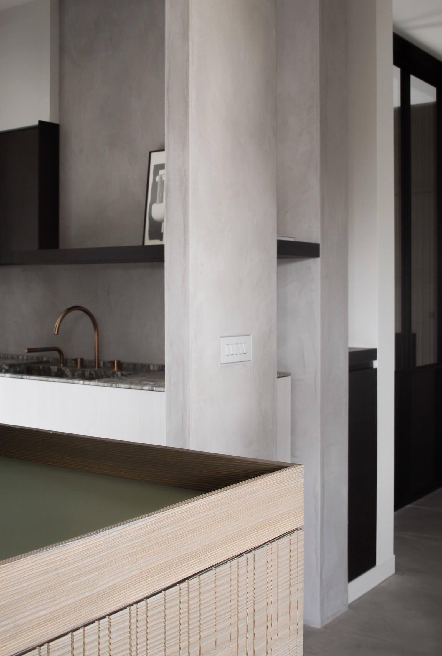 est living frederic kielemoes cafeine belgian apartment 7