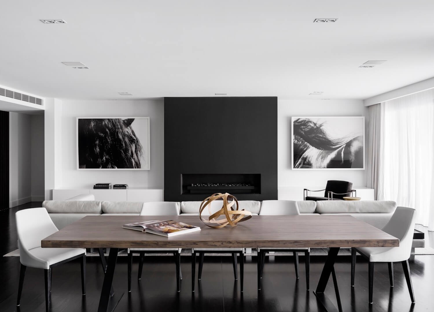 est living interiors monochrome house alwill interiors 1