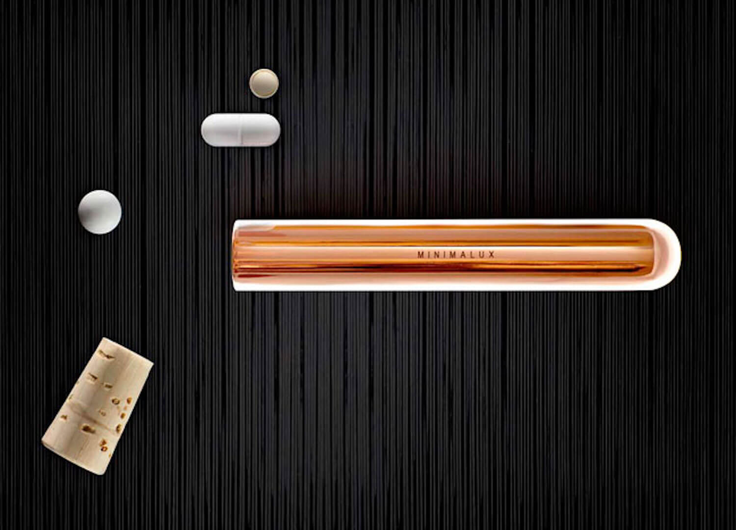 est living minimalux copper pill tube