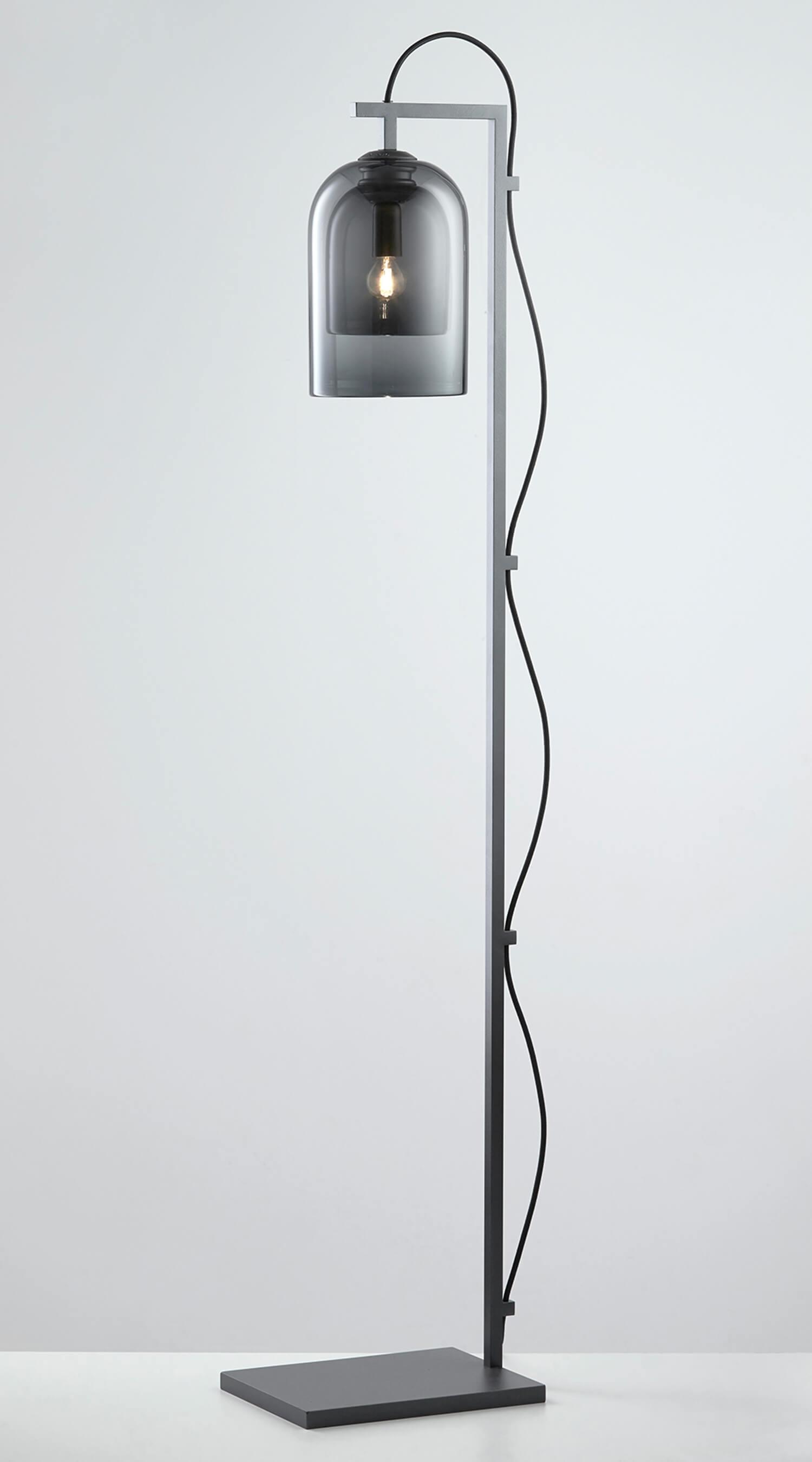 Articolo Lighting Lumi Floor Lamp Grey Grey Articolo Black Black Flex 1