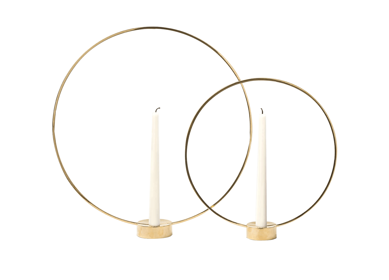 DE Gloria Brass Ring Candle