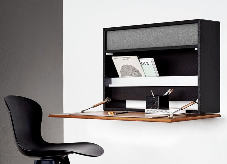 Cupertino Wall Desk BoConcept