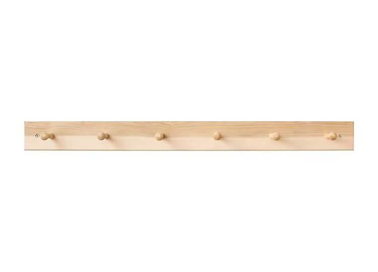 Maple Shaker Peg Rack
