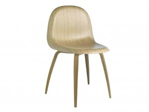 3D Wood Base Chair