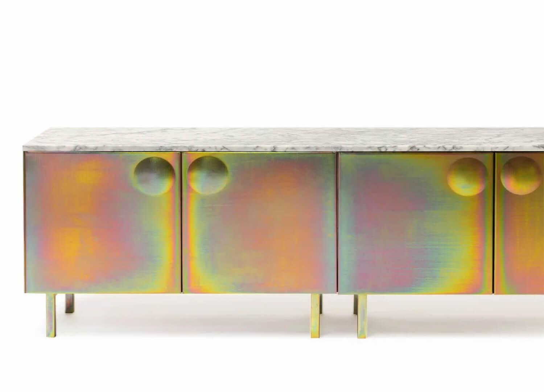 La Credenza On The Road : Art furniture living room eccles credenza bezel