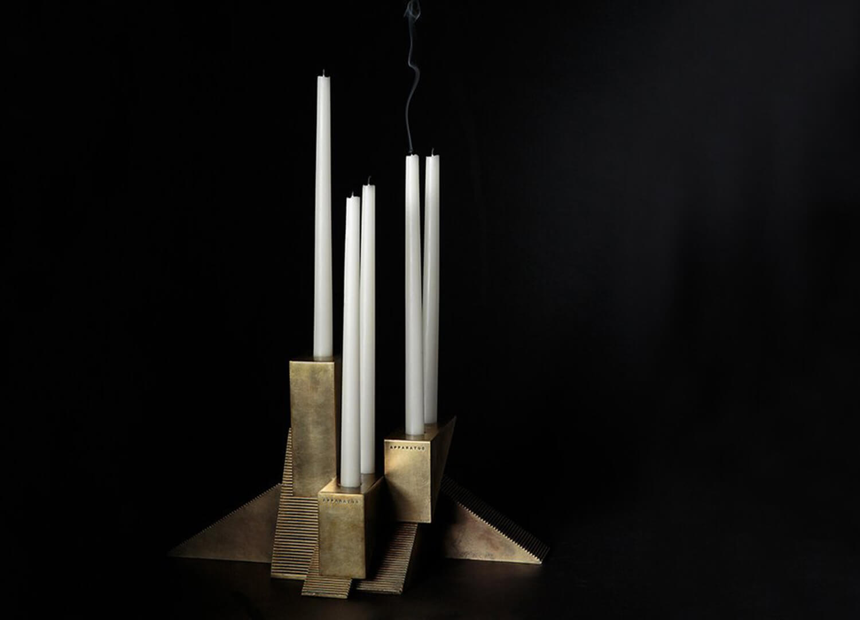 Candle Blocks Apparatus