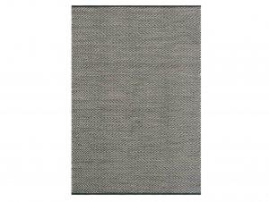 Quill Rug – Basalt & Fog