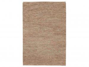 River Echo Stripe Rug – Natural & Pewter