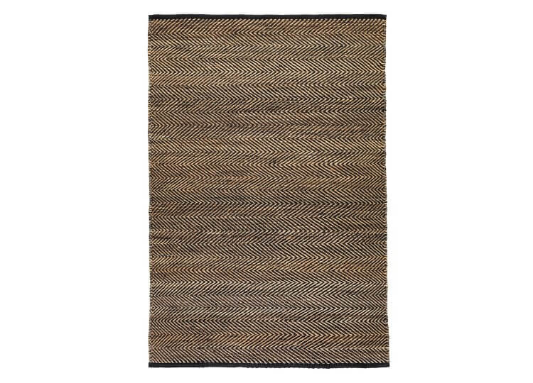 Serengeti Rug - Charcoal & Natural Armadillo & Co